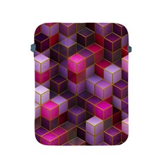Cube Surface Texture Background Apple Ipad 2/3/4 Protective Soft Cases