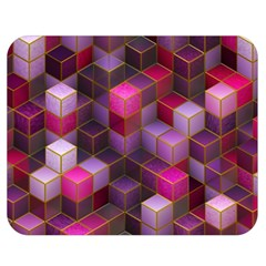 Cube Surface Texture Background Double Sided Flano Blanket (medium)