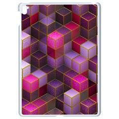 Cube Surface Texture Background Apple Ipad Pro 9 7   White Seamless Case
