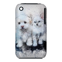 Cat Dog Cute Art Abstract Iphone 3s/3gs