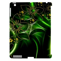 Flora Entwine Fractals Flowers Apple Ipad 3/4 Hardshell Case (compatible With Smart Cover)