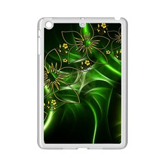 Flora Entwine Fractals Flowers Ipad Mini 2 Enamel Coated Cases