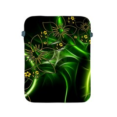 Flora Entwine Fractals Flowers Apple Ipad 2/3/4 Protective Soft Cases