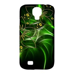Flora Entwine Fractals Flowers Samsung Galaxy S4 Classic Hardshell Case (pc+silicone)