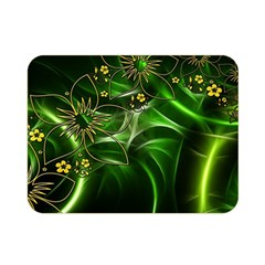 Flora Entwine Fractals Flowers Double Sided Flano Blanket (mini)