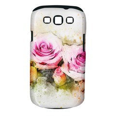 Flower Roses Art Abstract Samsung Galaxy S Iii Classic Hardshell Case (pc+silicone)