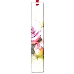 Flower Roses Art Abstract Large Book Marks