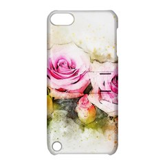 Flower Roses Art Abstract Apple Ipod Touch 5 Hardshell Case With Stand