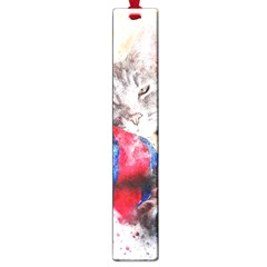 Cat Kitty Animal Art Abstract Large Book Marks