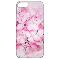 Flower Pink Art Abstract Nature Apple Iphone 5 Classic Hardshell Case