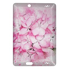 Flower Pink Art Abstract Nature Amazon Kindle Fire Hd (2013) Hardshell Case