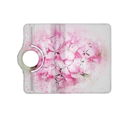 Flower Pink Art Abstract Nature Kindle Fire Hd (2013) Flip 360 Case
