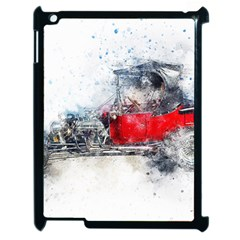 Car Old Car Art Abstract Apple Ipad 2 Case (black)