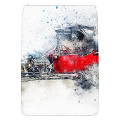 Car Old Car Art Abstract Flap Covers (s)