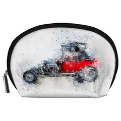 Car Old Car Art Abstract Accessory Pouches (large)