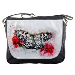Butterfly Animal Insect Art Messenger Bags
