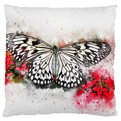 Butterfly Animal Insect Art Large Cushion Case (one Side)