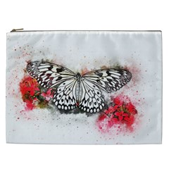 Butterfly Animal Insect Art Cosmetic Bag (xxl)