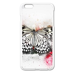 Butterfly Animal Insect Art Apple Iphone 6 Plus/6s Plus Enamel White Case