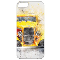Car Old Art Abstract Apple Iphone 5 Classic Hardshell Case