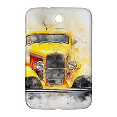 Car Old Art Abstract Samsung Galaxy Note 8 0 N5100 Hardshell Case