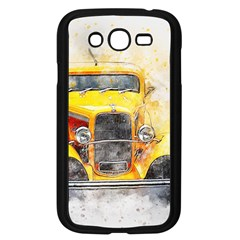 Car Old Art Abstract Samsung Galaxy Grand Duos I9082 Case (black)