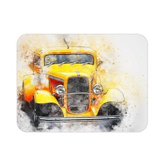 Car Old Art Abstract Double Sided Flano Blanket (mini)