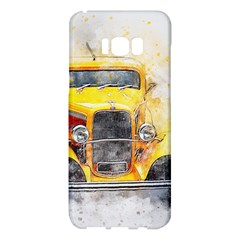Car Old Art Abstract Samsung Galaxy S8 Plus Hardshell Case