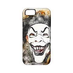 Mask Party Art Abstract Watercolor Apple Iphone 5 Classic Hardshell Case (pc+silicone)
