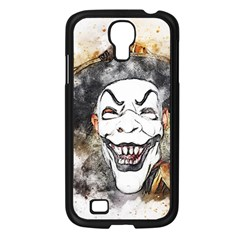 Mask Party Art Abstract Watercolor Samsung Galaxy S4 I9500/ I9505 Case (black)