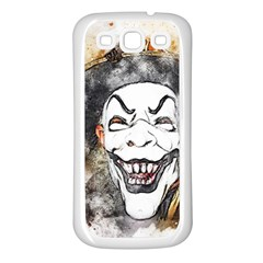 Mask Party Art Abstract Watercolor Samsung Galaxy S3 Back Case (white)