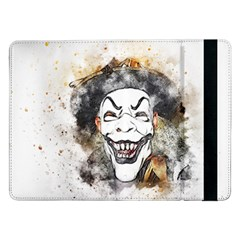 Mask Party Art Abstract Watercolor Samsung Galaxy Tab Pro 12 2  Flip Case