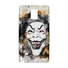 Mask Party Art Abstract Watercolor Samsung Galaxy Note 4 Hardshell Case