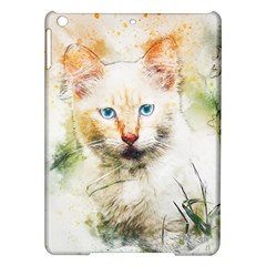 Cat Animal Art Abstract Watercolor Ipad Air Hardshell Cases