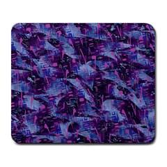 Techno Grunge Punk Large Mousepads