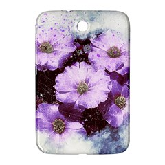 Flowers Purple Nature Art Abstract Samsung Galaxy Note 8 0 N5100 Hardshell Case