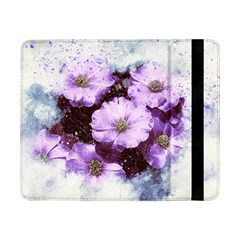 Flowers Purple Nature Art Abstract Samsung Galaxy Tab Pro 8 4  Flip Case