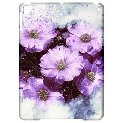 Flowers Purple Nature Art Abstract Apple Ipad Pro 9 7   Hardshell Case