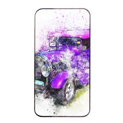 Car Old Car Art Abstract Apple Iphone 4/4s Seamless Case (black)