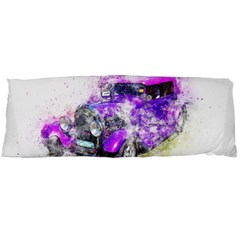 Car Old Car Art Abstract Body Pillow Case Dakimakura (two Sides)