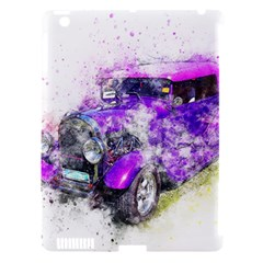 Car Old Car Art Abstract Apple Ipad 3/4 Hardshell Case (compatible With Smart Cover)