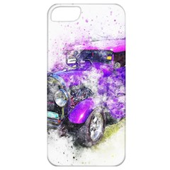 Car Old Car Art Abstract Apple Iphone 5 Classic Hardshell Case