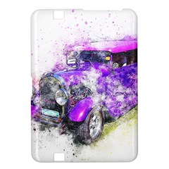 Car Old Car Art Abstract Kindle Fire Hd 8 9