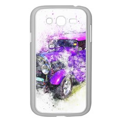 Car Old Car Art Abstract Samsung Galaxy Grand Duos I9082 Case (white)