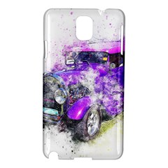 Car Old Car Art Abstract Samsung Galaxy Note 3 N9005 Hardshell Case