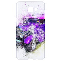 Car Old Car Art Abstract Samsung C9 Pro Hardshell Case