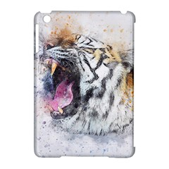 Tiger Roar Animal Art Abstract Apple Ipad Mini Hardshell Case (compatible With Smart Cover)