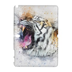 Tiger Roar Animal Art Abstract Galaxy Note 1