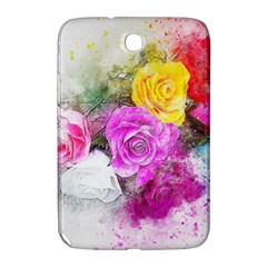 Flowers Bouquet Art Abstract Samsung Galaxy Note 8 0 N5100 Hardshell Case