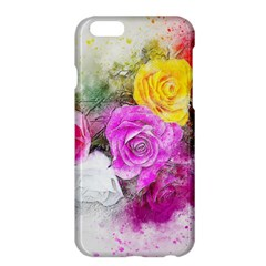 Flowers Bouquet Art Abstract Apple Iphone 6 Plus/6s Plus Hardshell Case